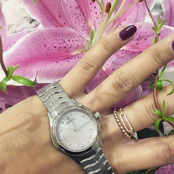 ebel wave lady horloge 1216268a 2