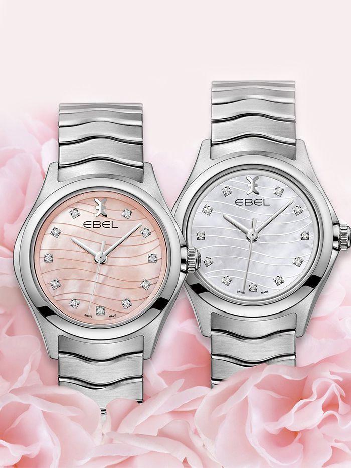 ebel wave lady horloge 1216268a 3