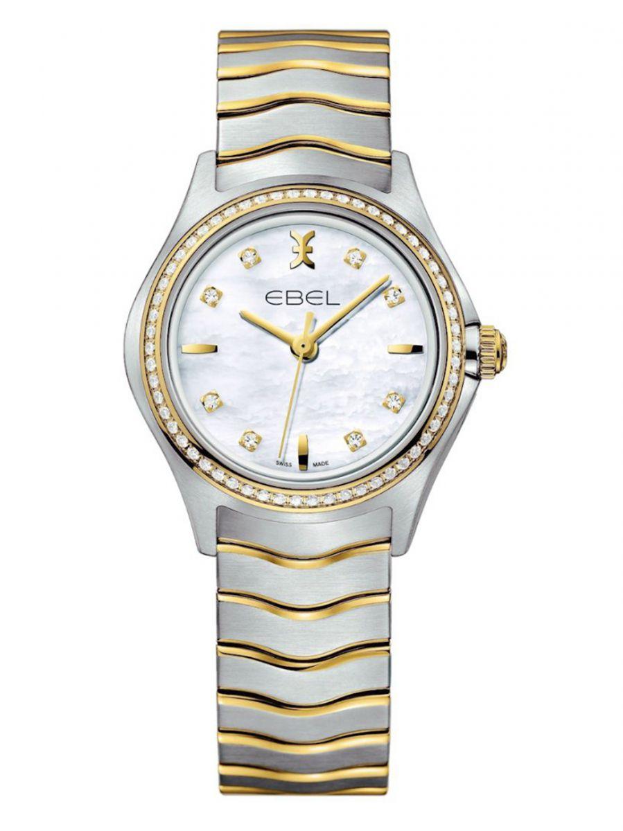 ebel wave lady small horloge1216351a 1