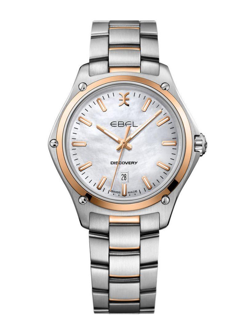 ebel discovery horloge bicolor1216396a 1