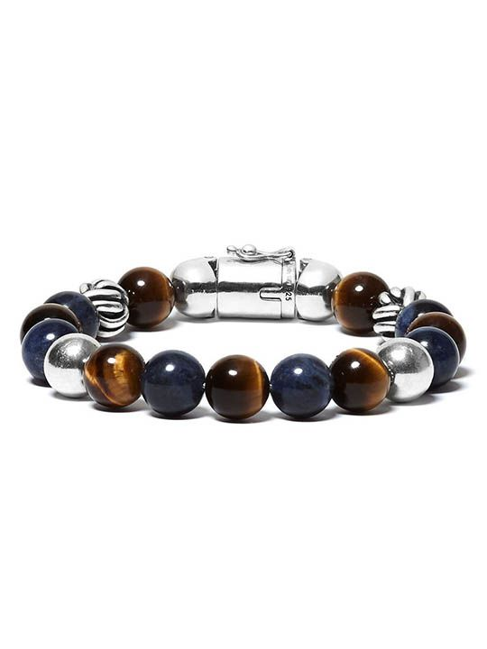 188ms spirit bead mix sodalite tigereye