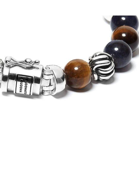 buddha to buddha spirit bead mix sodalite tigereye 188ms 2