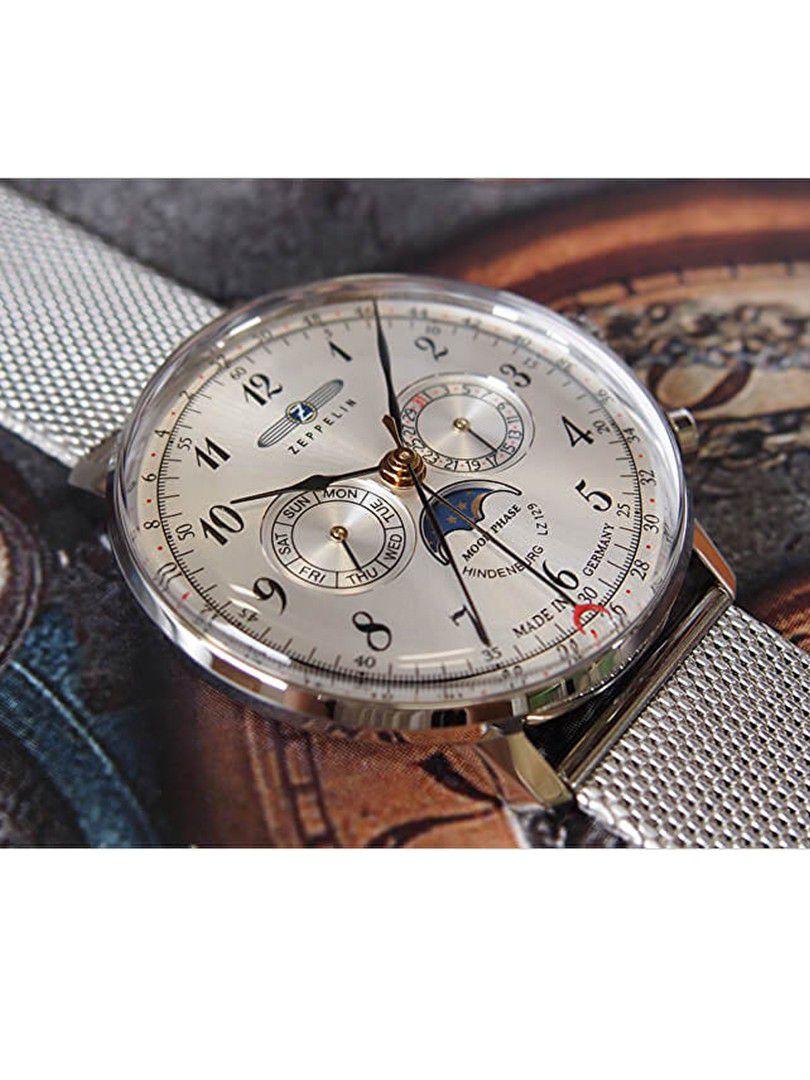 zeppelin lz129 hindenburg moonphase horloge70361 2