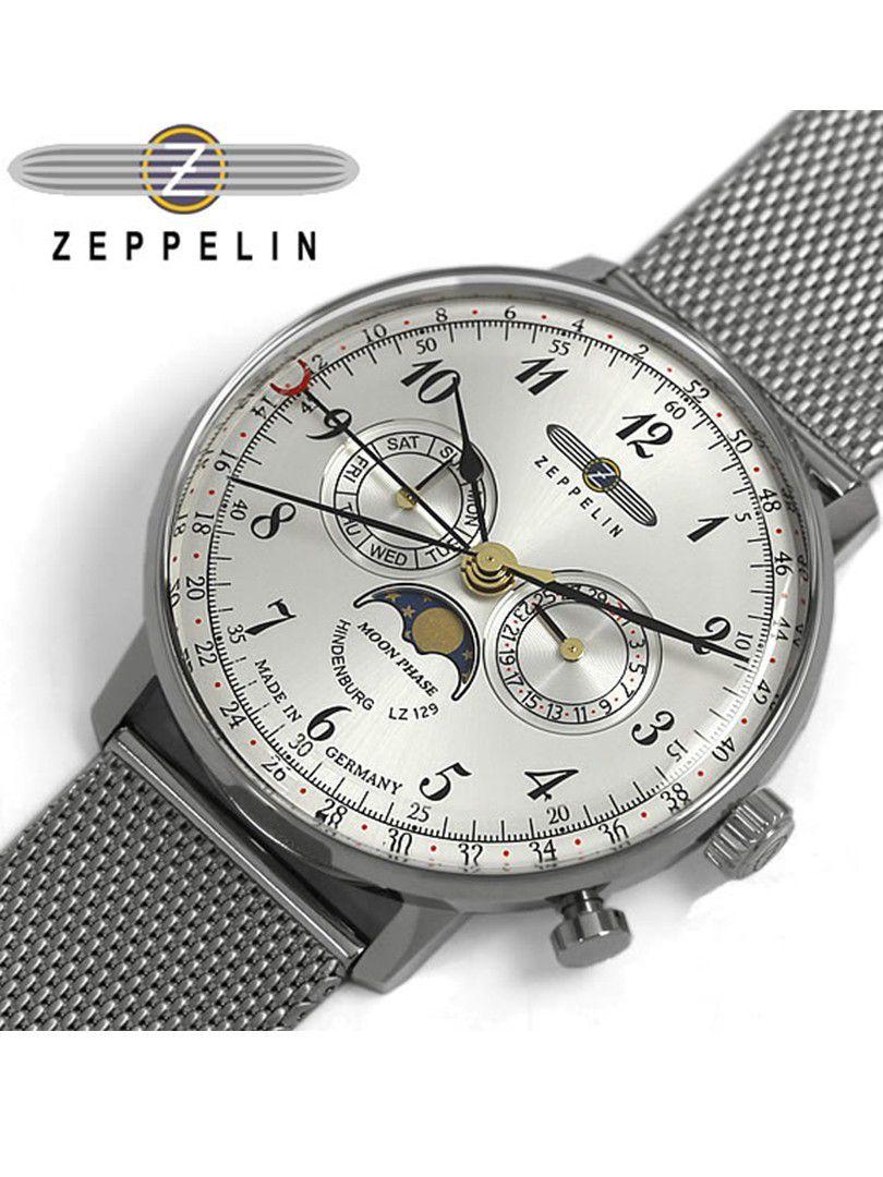 zeppelin lz129 hindenburg moonphase horloge70361 3