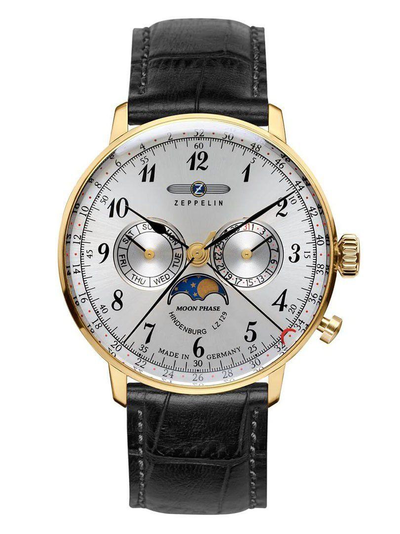 zeppelinhindenburg moonphase horloge 70381
