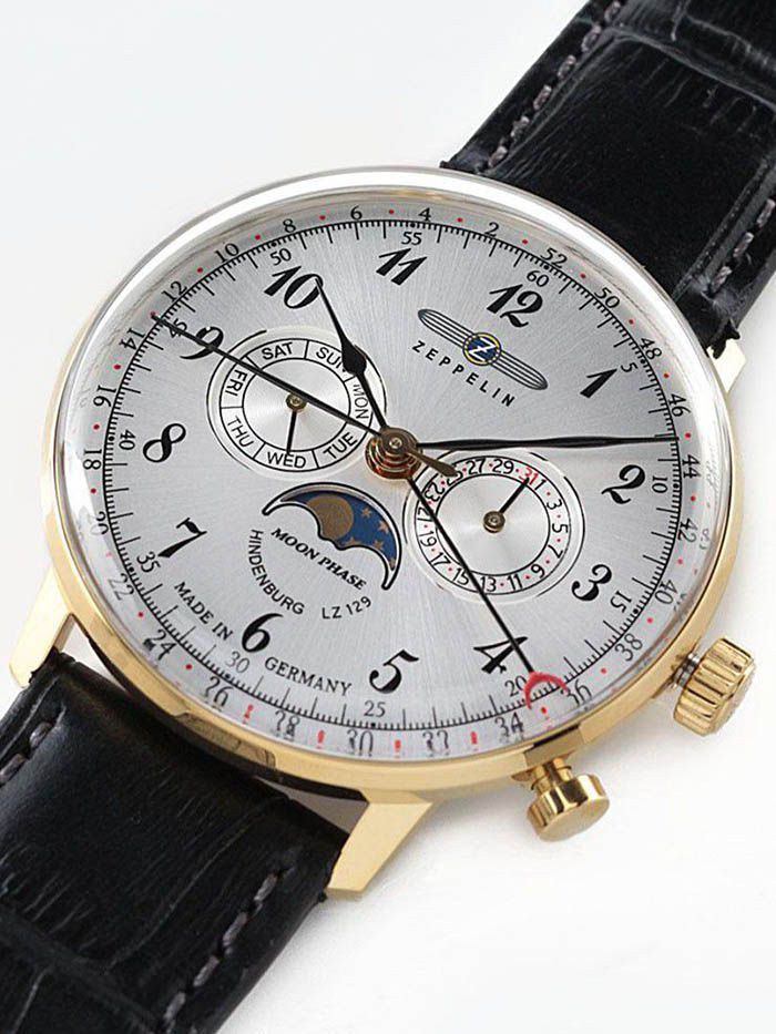 zeppelinhindenburg moonphase horloge 70381 3
