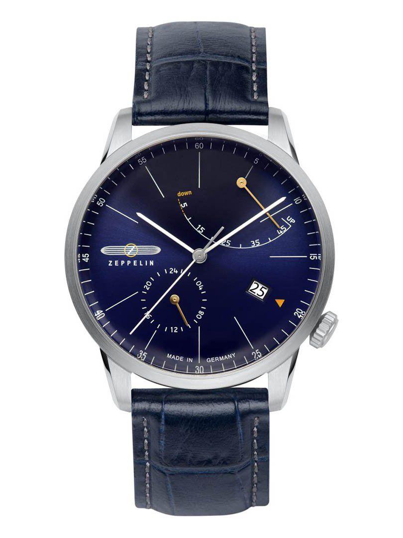 zeppelin flatline power reserve automatic horloge73663