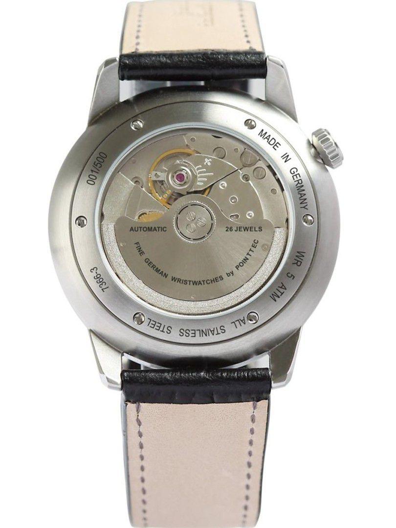zeppelin flatline power reserve automatic horloge73663 3
