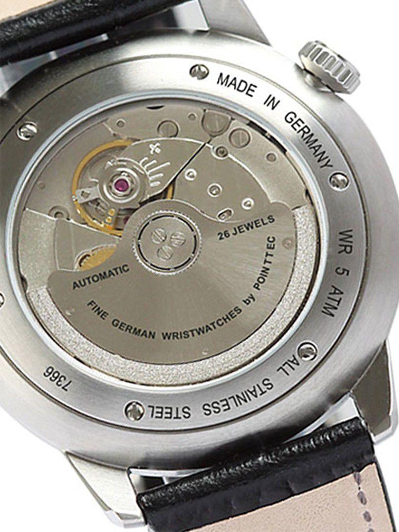 zeppelin flatline power reserve automatic horloge73665 2