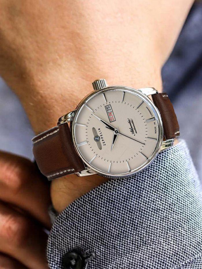 zeppelin atlantic automatic horloge 84665 2