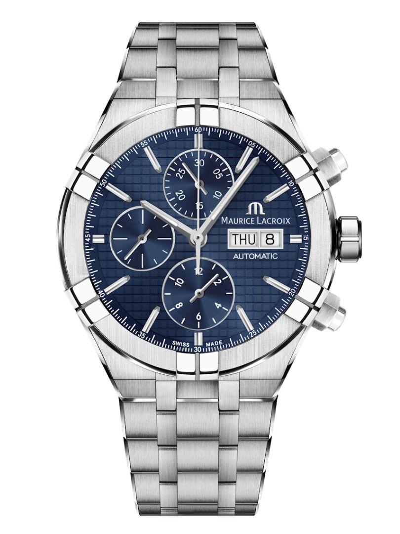 maurice lacroix aikon automatic chronograph ai6038ss0024301