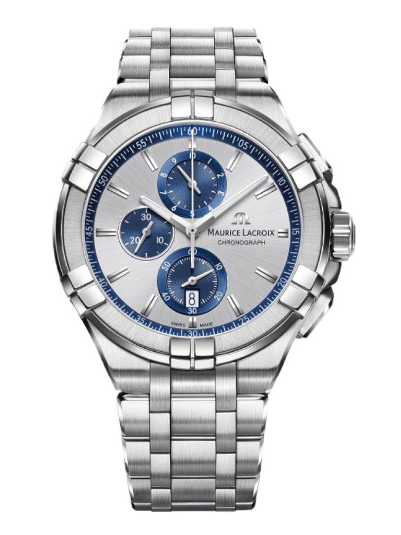 maurice lacroix aikon chronograph ai1018ss0021311 1