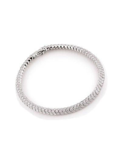 Amori armband wit diamant