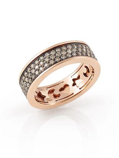 Amori Ring Champagne Diamant