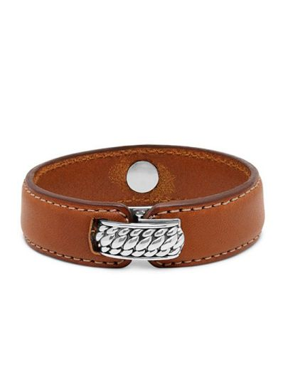 Anggun Leather Brown armband