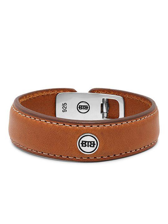 anggunleather brown armband