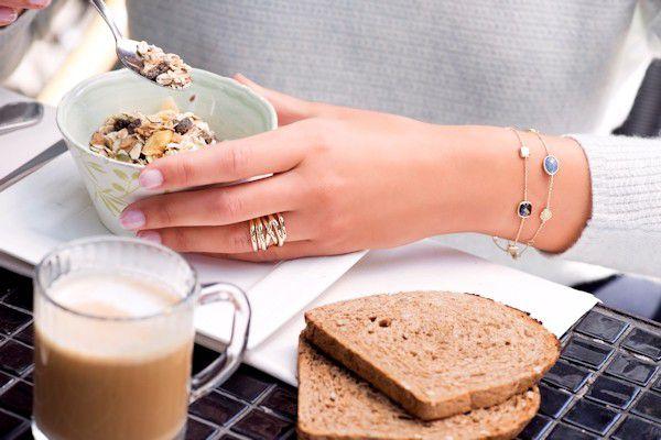 gouden armband met topaas 2