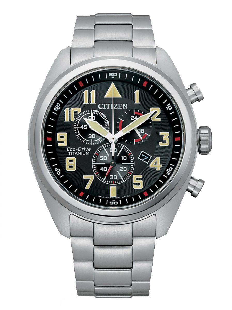 citizen titanium field chronograph horlogeat248081e 1
