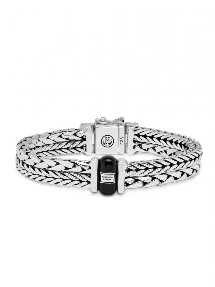 buddha to buddha barbara george onyx armband 105 1
