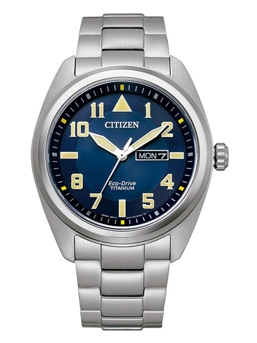 citizen ecodrive super titanium horloge bm856088l 1