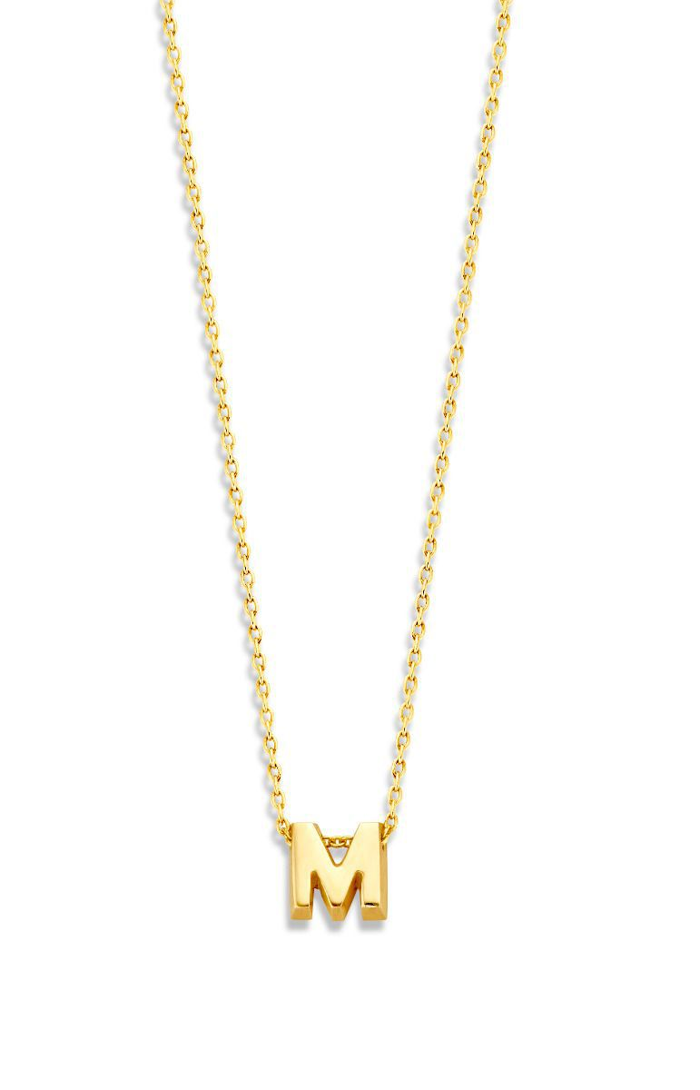 just franky ketting capital necklace