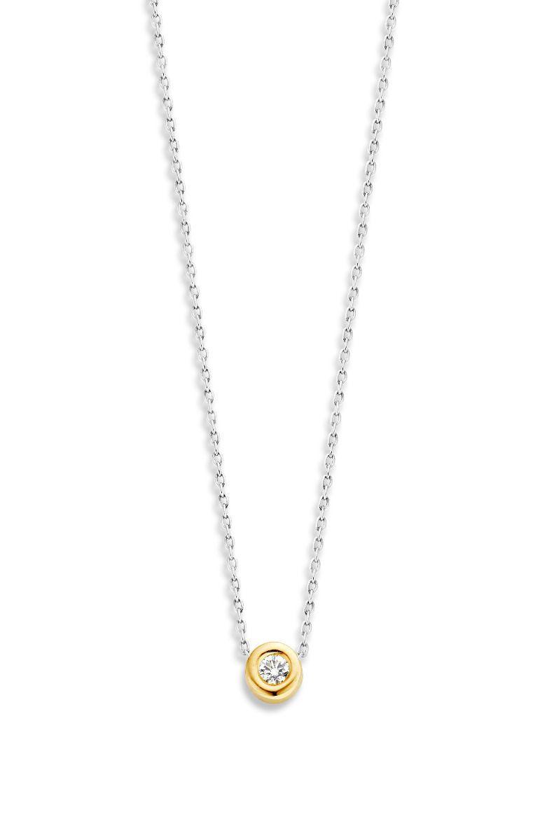 capital 1 diamond collier