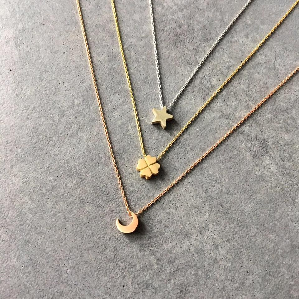 capital star necklace