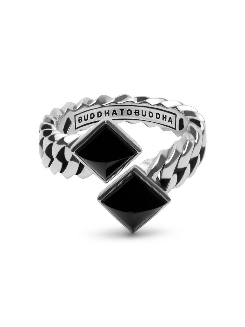 chain pyramid ring