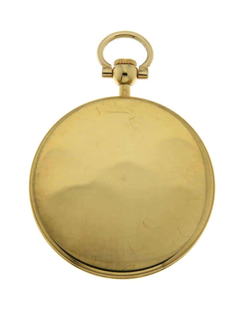 gouden chopard zakhorloge 18k 10