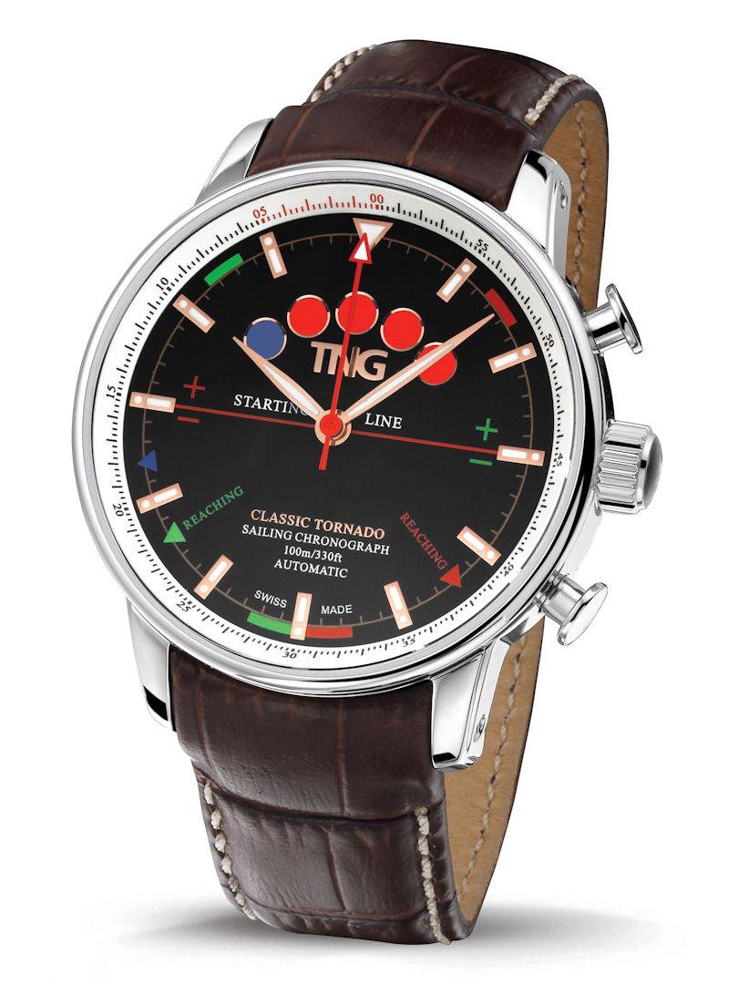 tng classic tornado sailing chronograph horloge tng10151e