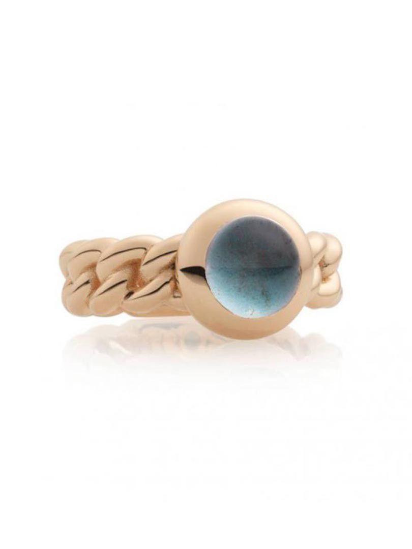 bron classico ring met london bluetopaas 8rr4852tlc