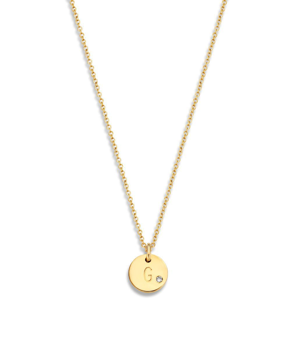 just franky coin ketting 1 diamond coin
