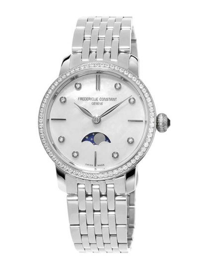 FC-206MPWD1SD6B Slimline Ladies Moonphase