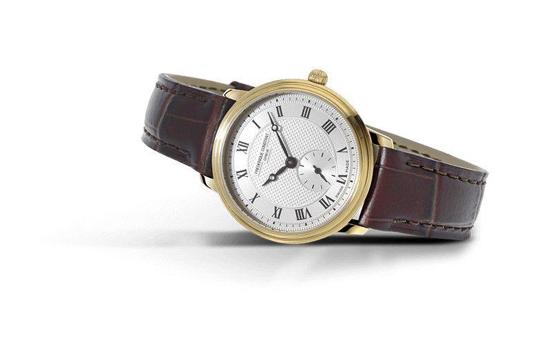 fc235m1s5 frederique constant slimline midsize horloge