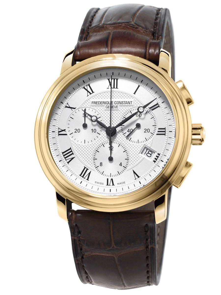 frederique constant classics chronograph horlogefc292mc4p501