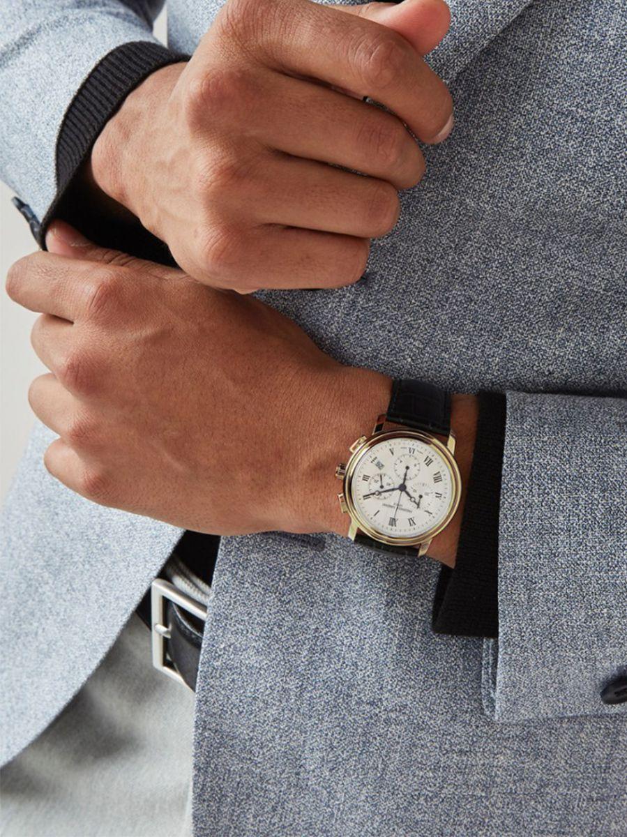 frederique constant classics chronograph horlogefc292mc4p52