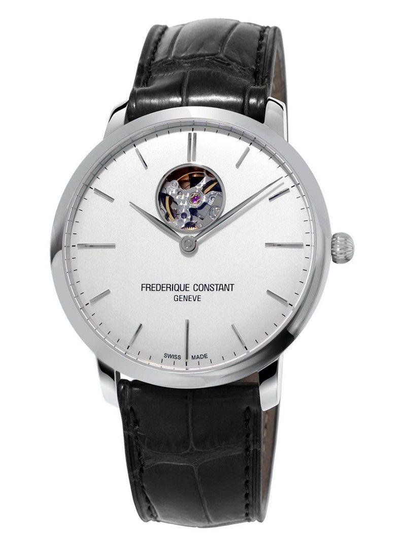 fc312s4s6 frederique constant horloge slimline automatic heart beat