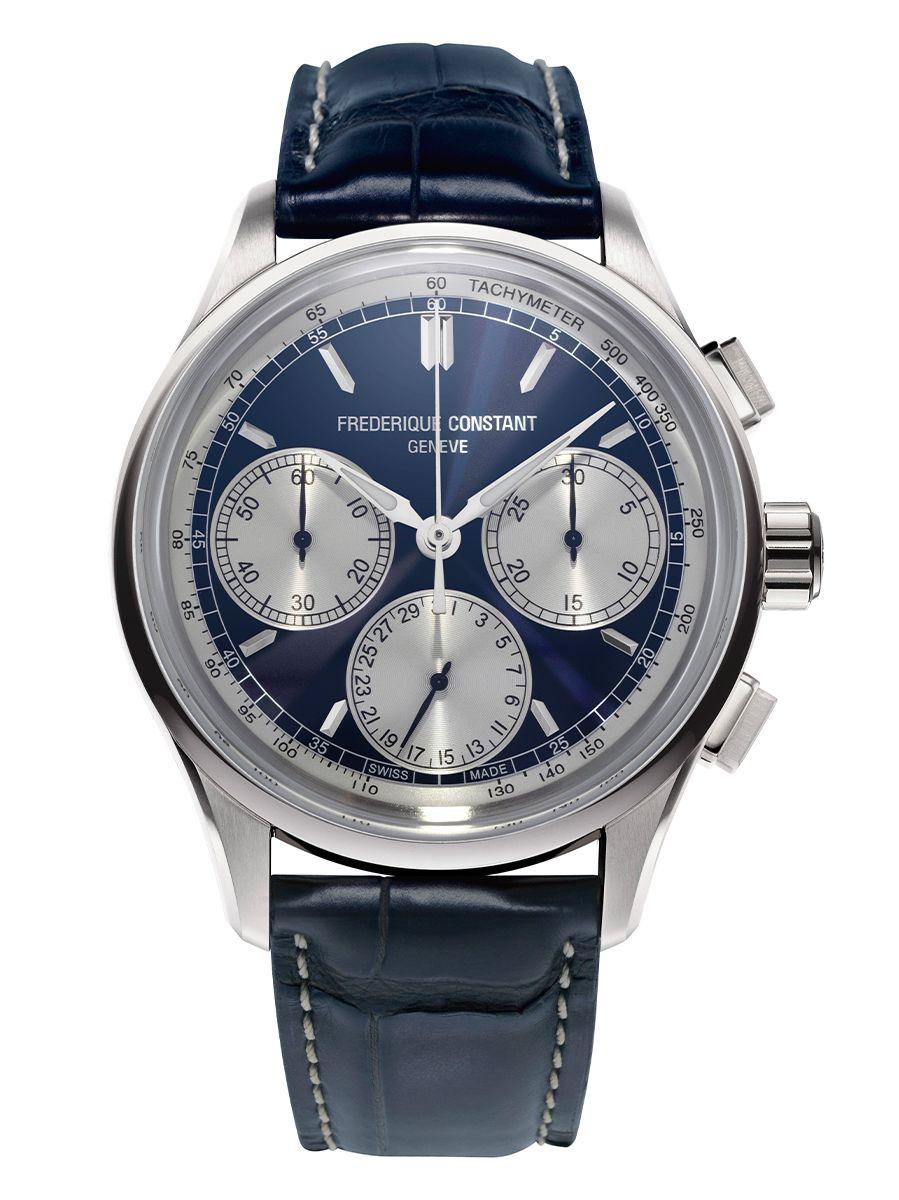 frederique constant flyback chronograph herenhorloge fc760ns4h6