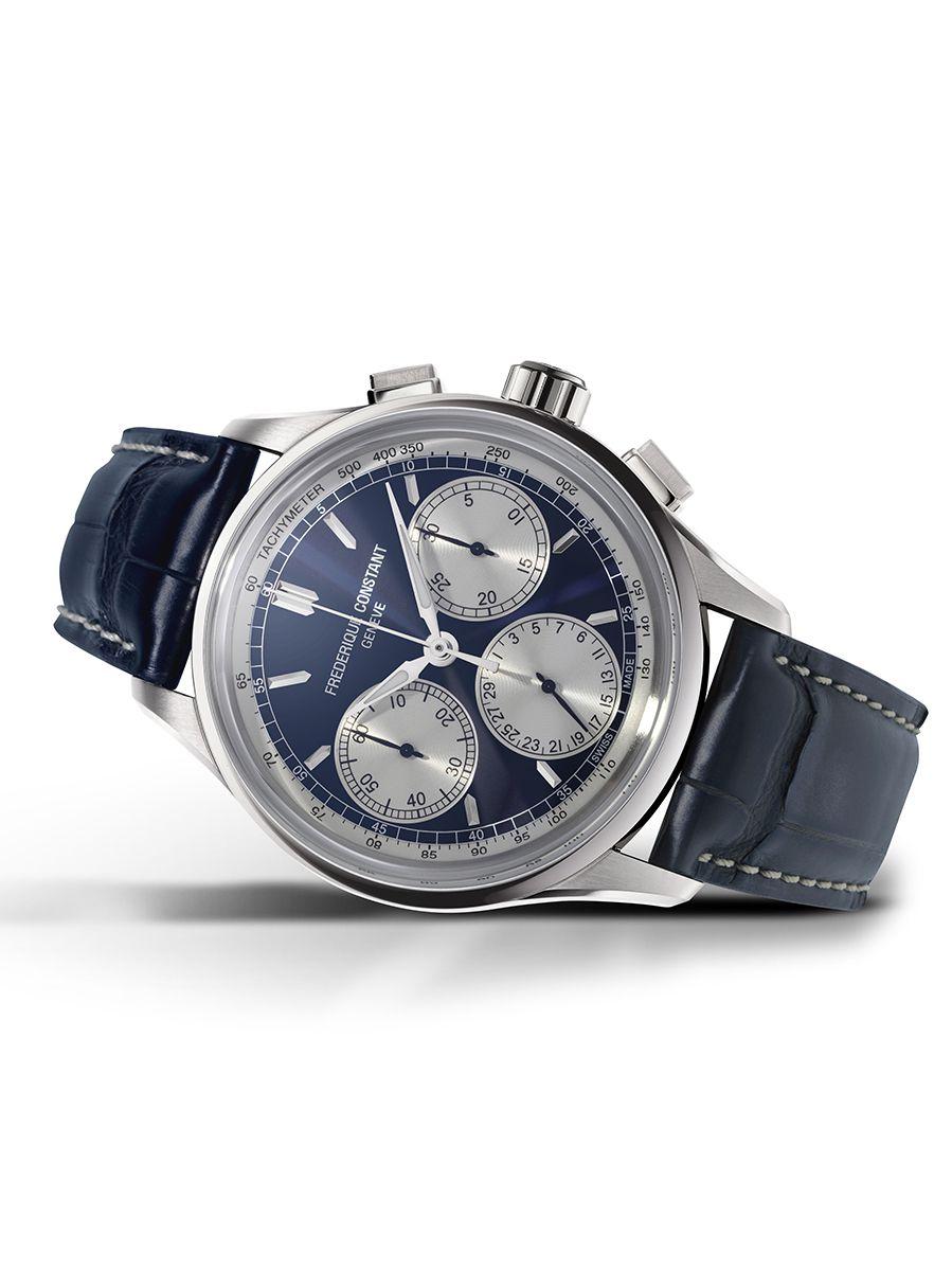 frederique constant flyback chronograph herenhorloge fc760ns4h63