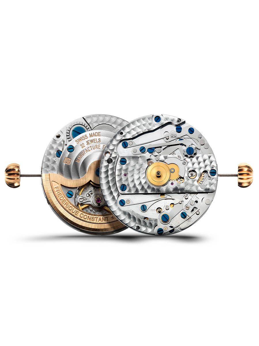 frederique constant flyback chronograph herenhorloge fc760ns4h66