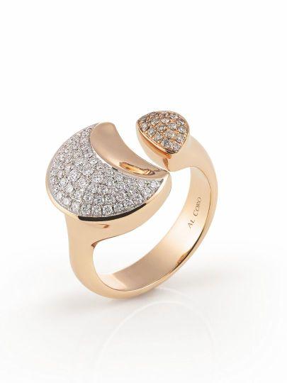 Gioia ring met briljant
