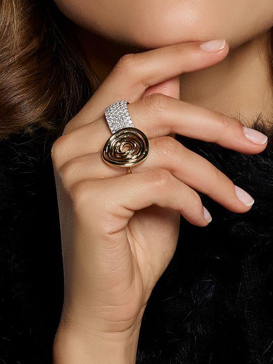 gouden ring fantasie 14 karaatgoud 2