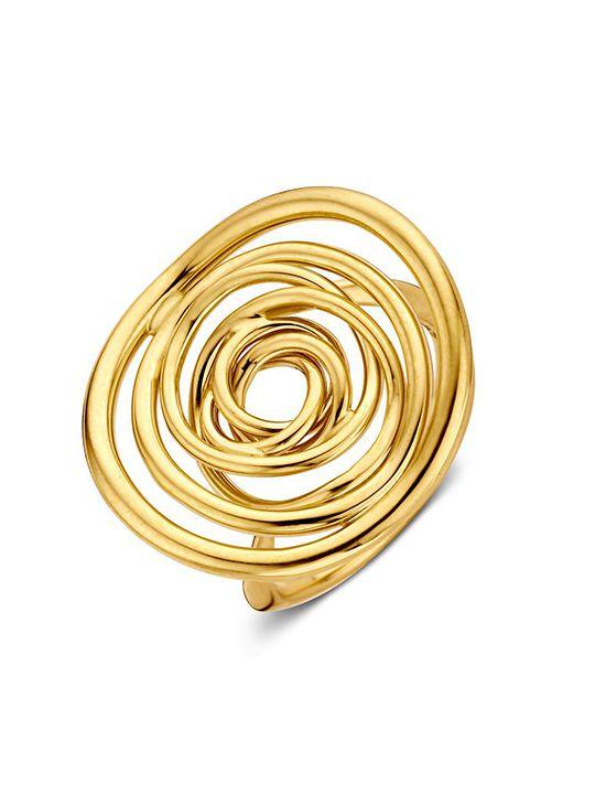 gouden ring fantasie 14 karaatgoud