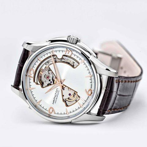 hamilton jazzmaster open heart auto horloge h32565555 2