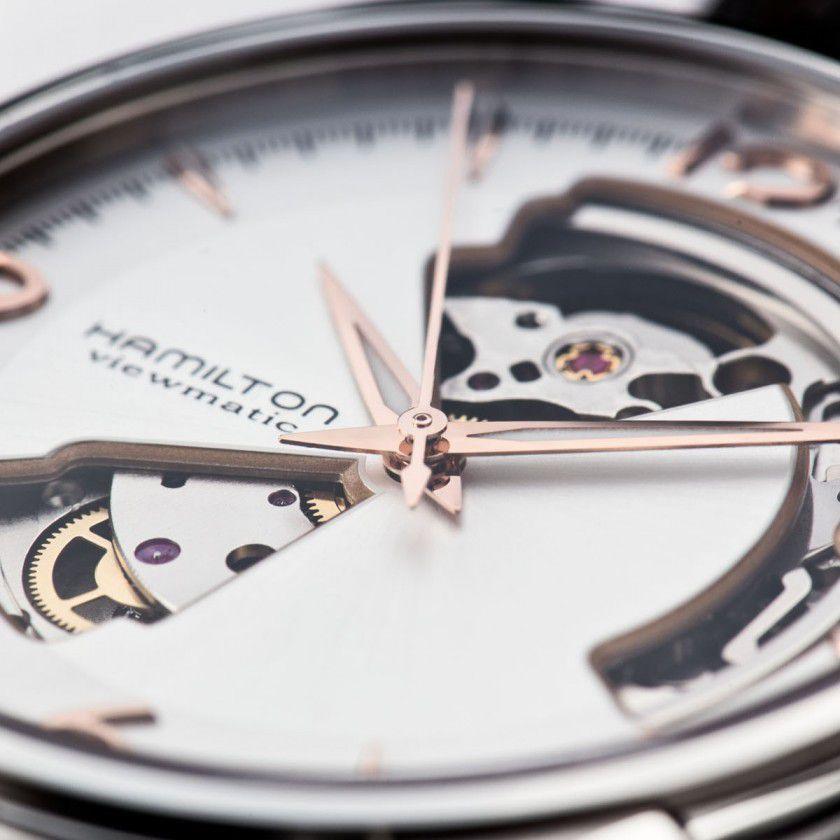 hamilton jazzmaster open heart auto horloge h32565555 3