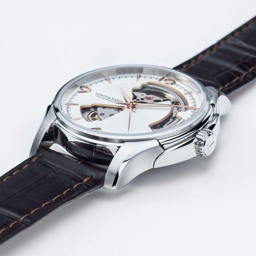 hamilton jazzmaster open heart auto horloge h32565555 4