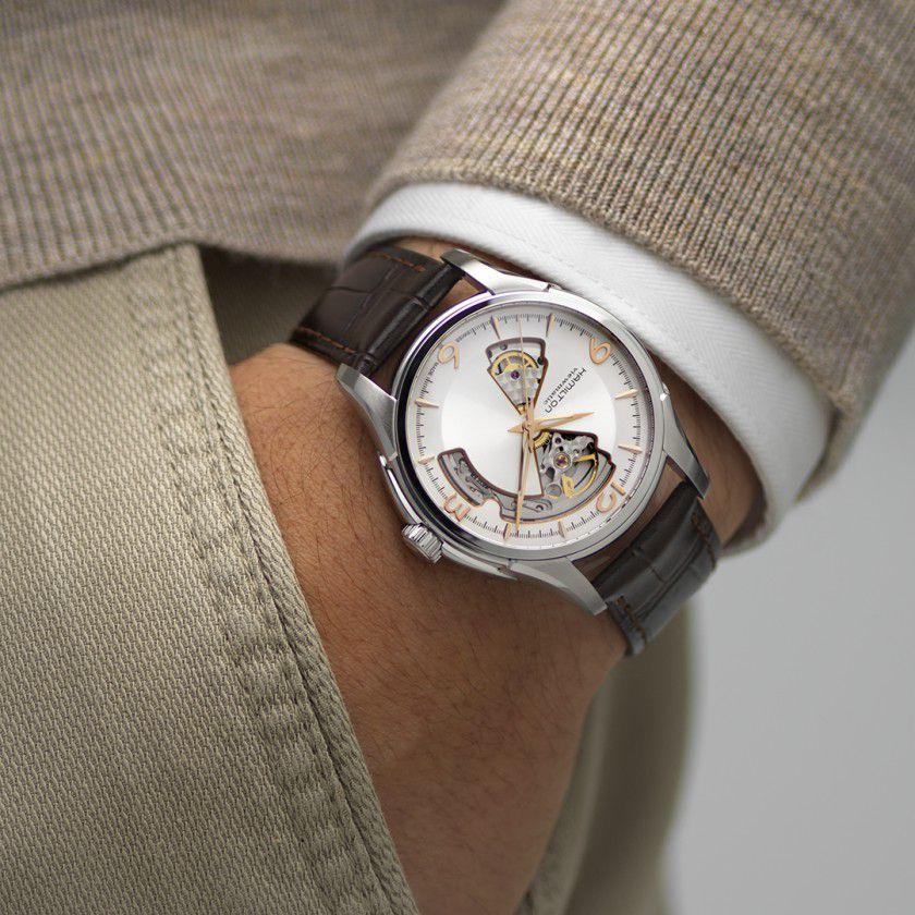 hamilton jazzmaster open heart auto horloge h32565555 6