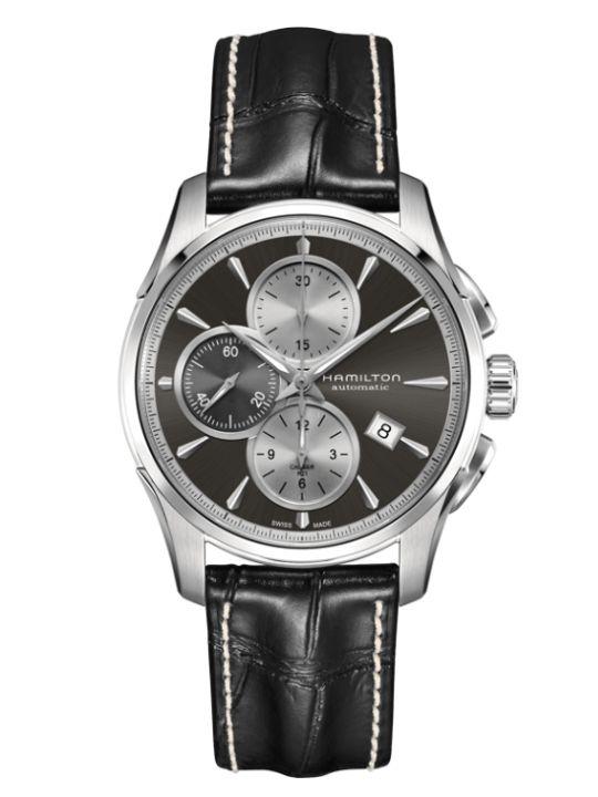 hamilton jazzmaster auto chrono horlogeh32596781