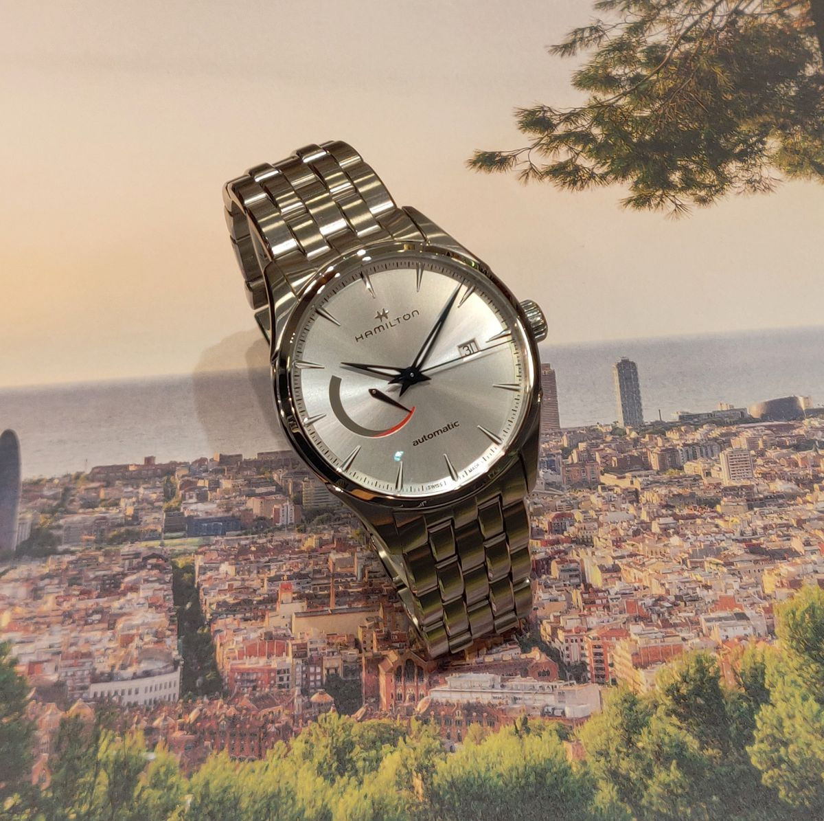 hamilton jazzmaster power reserve horloge h32635181 3