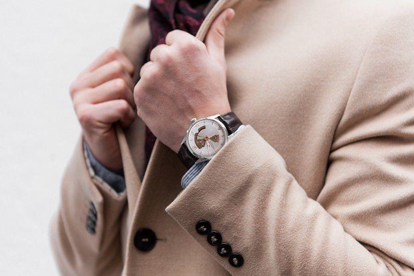 hamilton jazzmaster open heart auto horloge h32705551 2